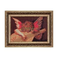 Вышивание Чарiвна мить Набор для вышивания ангел с лютней
