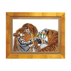 Вышивание Чарiвна мить Набор для вышивания тигры