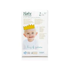 Подгузники Naty размер 2 3-6 кг 34 шт