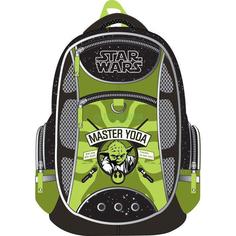 Ранец школьный Erich Krause Star Wars Black-Green (4041485374756)