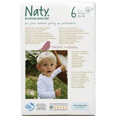 ЭКО Подгузники Naty размер 6 (16+ кг) 18 шт