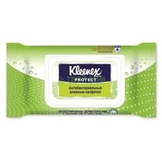 Салфетки Kleenex Влажные Protect антибактериальные (с крышкой) (9440100)