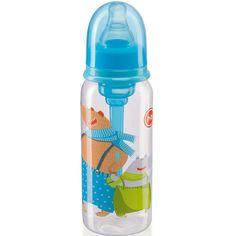 Бутылочка Happy Baby Sky с силиконовой соской 0,25 л