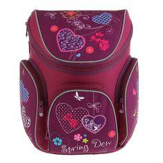 Ранец школьный Magtaller Boxi Hearts