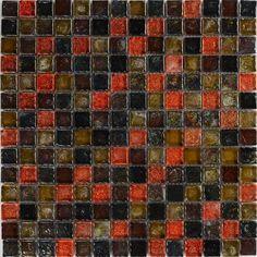 Плитка Primacolore CrystaSol Мозаика Коричневая 30,5х30,5 см GS550SLA