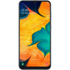 Смартфон Samsung Galaxy A30 2019 64GB Белый
