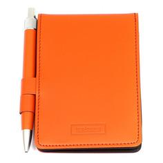 Блокнот для записей ICEBERG с ручкой оранжевый