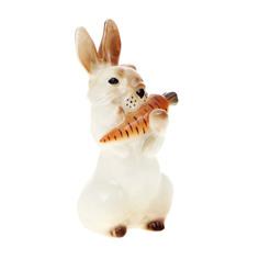 Скульптура Лфз заяц с морковкой 2