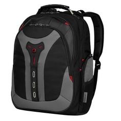 Рюкзак WENGER 17, черный/серый, полиэстер, 37x24x48 см, 25 л