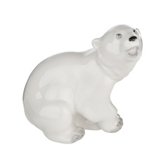 Скульптура Лфз - медвежонок присевший
