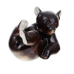 Скульптура Лфз - медвежонок лежащий