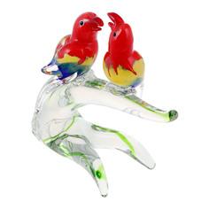 Фигурка Art glass веселые неразлучники 26x23 см