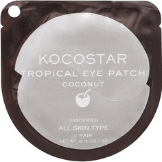 Патчи для глаз KOCOSTAR Tropical Eye Patch Кокос 1 пара