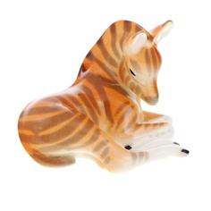 Скульптура Лфз зебренок лежащий