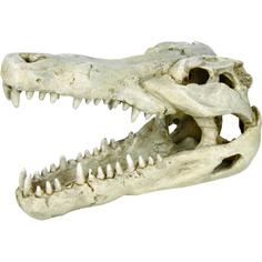 Грот для аквариумов Trixie Череп крокодила 14 см
