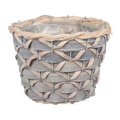 Кашпо Dekor pap плетеная корзина 21хh15 см
