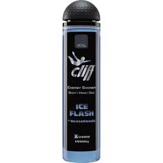 Гель-шампунь для душа Cliff 3в1 Ледяная мята 300 мл