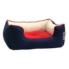Лежак для собак Foxie Colour синий 70x60x23 см