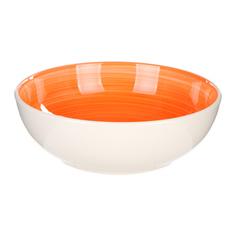 Салатник 23 см Tognana gypsy оранжевый