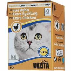 Корм для кошек BOZITA Рубленая Курица кусочки в желе 370 г