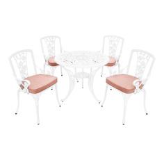 Комплект мебели Wentai furniture: стол+4 стула с подушкой
