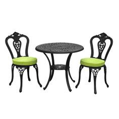Комплект мебели Wentai furniture стол+2 стула с подушкой