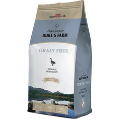 Корм для собак Dukes Farm беззерновой утка 12 кг