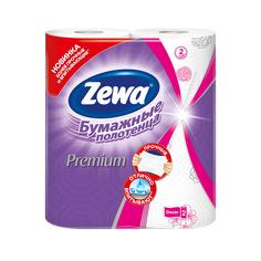 Бумажные полотенца Zewa Premium Декор, 2 рулона