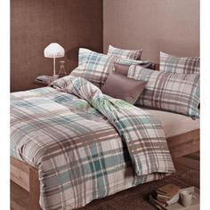 Комплект постельного белья Caleffi Finlandia turchese