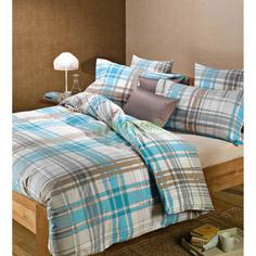 Комплект постельного белья Caleffi Artlinea blu (13448)