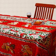Скатерть Grand Textile Новый Год 140х240 см