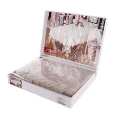 Скатерть Maison dor sweet 160х220 велюр с кружевом в ассортименте