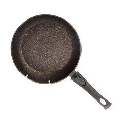 Сковорода для жарки со съемной ручкой Fissman black cosmic 26x5.2