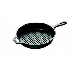 Сковорода-гриль Lodge Круглая 26 см Black