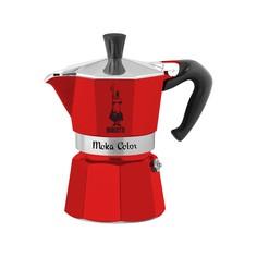 Кофеварка гейзерная Bialetti Moka Express Rossa на 6 чашек