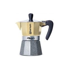 Кофеварка гейзерная Bialetti Aeternum Allegra Petra на 6 чашек