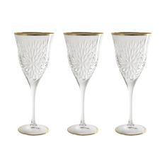 Набор 6 бокалов для вина умбрия-золото Same (SM3550/844-AL)