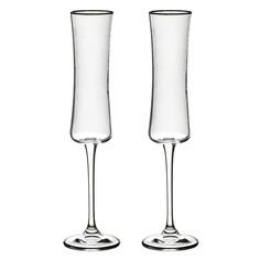 Набор фужеров для шампанского Crystalite bohemia Марко/Бутео/150мл/2шт