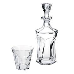 Набор для виски Crystalite Bohemia аполло/графин 0.9л+6стаканов 230мл