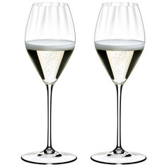 Набор фужеров 2шт Riedel champagne perfomance 375мл