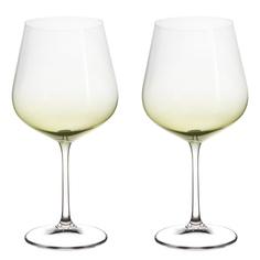 Набор фужеров Crystalite Bohemia Стрикс/Хаки для вина 2х600 мл