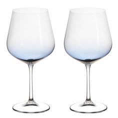 Набор фужеров Crystalite Bohemia Стрикс/Грей для вина 2х600 мл