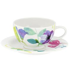 Чашка для завтрака+блюдце 300мл водный сад Portmeirion