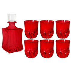 Набор Same 7 предметов штоф+6 стаканов для виски адажио