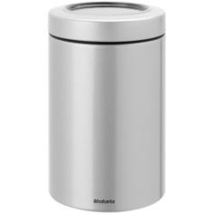 Контейнер для сыпучих продуктов Brabantia 1.4л серый металлик