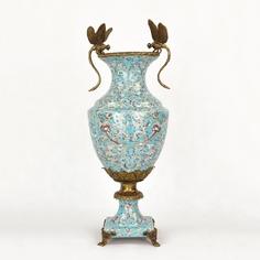 Ваза фарфоровая со стрекозами 50х27х19 см Wah luen handicraft