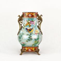 Ваза фарфоровая с грифонами 24х20х40см Wah luen handicraft