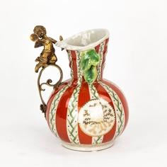 Ваза фарфоровая с ангелом 15х15х22 см Wah luen handicraft