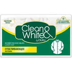Хозяйственное мыло Duru Clean&White Отбеливающее 125 г