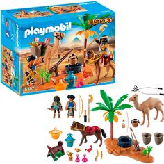 Конструктор Playmobil Лагерь Расхитителей гробниц